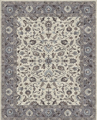 Due Process Stable Trading Co Ziegler Hand-Tufted Sand/Pearl Area Rug; Rectangle 9'6'' x 13'6''