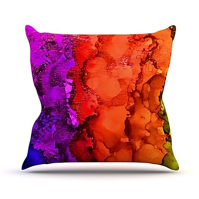 KESS InHouse Clairevoyant Throw Pillow; 18'' H x 18'' W