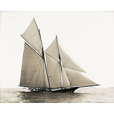 Graffitee Studios Nautical 'Majestic Ship III' Photographic Print on Wrapped Canvas