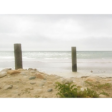 Graffitee Studios General Coastal 'Calm Waters' Photographic Print on Wrapped Canvas