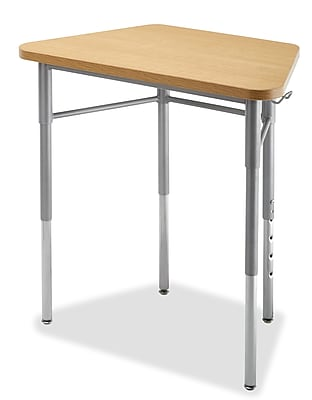 Alumni Trapezoid Student Desk Collaborative Powder Coat (8MTMAMAP1AD)