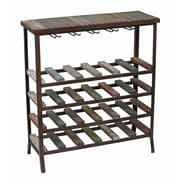 Privilege 24 Bottle Floor Wine Rack
