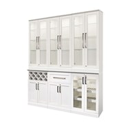 NewAge Products 7 Piece Shaker Style Home Bar