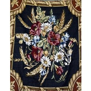 Tache Home Fashion Floral Harvest Tapestry Throw Blanket