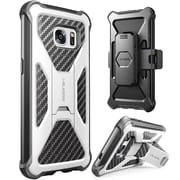i-Blason Prime Series Kickstand Case with Belt Clip Holster for Samsung Galaxy S7 - White