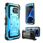 i-Blason Armorbox Series Fullbody Protection Case with built-in Screen Protector for Samsung Galaxy S7 - Blue