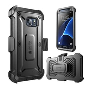 SUPCASE Unicorn Beetle Pro Series Fullbody Protection Case with Screen Protector & Holster for Samsung Galaxy S7, Black