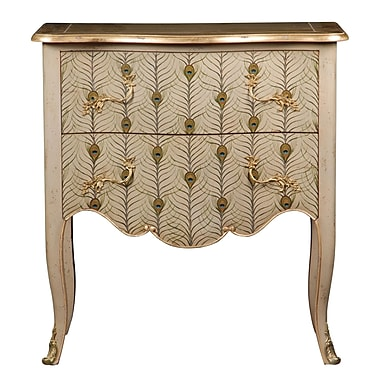 French Heritage Parc Saint-Germain 2 Drawer Commode/Chest