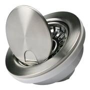 Nantucket Sinks Premium 4.5'' Flip Top Kitchen Sink Drain