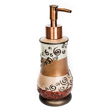 Sweet Home Collection Miramar Lotion Dispenser
