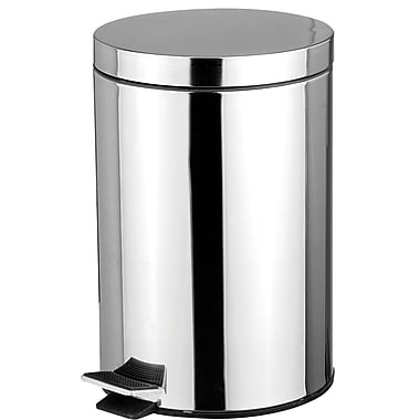 Sweet Home Collection Stainless Steel 1.32 Gallon Step On Trash Can