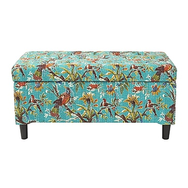 Jennifer Taylor Naomi Upholstered Storage Bench