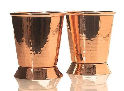 Sertodo Copper Derby Mint Julep Water Glass 12 oz. Copper WYF078279056144