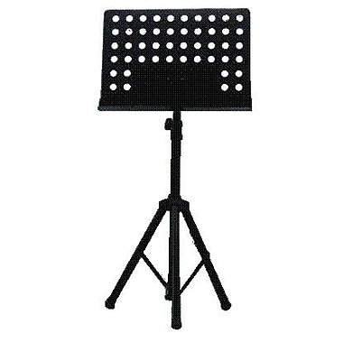 Summit Lecterns Music Adjustable Height Speaker Stand