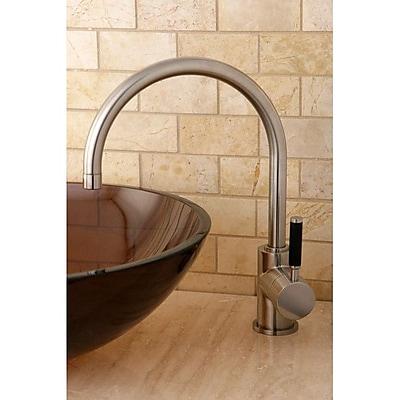 Kingston Brass Kaiser Vessel Sink Faucet; Satin Nickel