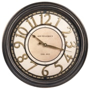 Ashton Sutton 16'' Raised Number Dial Wall Clock