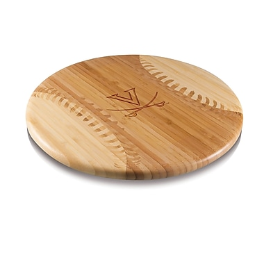 Picnic Time NCAA Homerun Cutting Board; Virginia