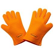Kitch N' Wares Grill Gloves; Orange