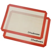 Freshware Professional Silicone Nonstick Baking Mat (Set of 2)