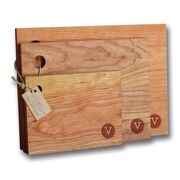 Richwood Creations 3 Piece Stamp Cutting Board Set; V