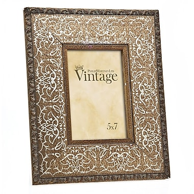 Philip Whitney Vintage Scroll Picture Frame; 5'' x 7''