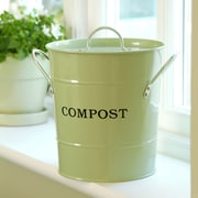 Exaco 0.12 cu. ft. Kitchen/Countertop Composter; Apple Green
