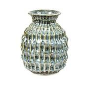 Sagebrook Home Textured Vase; 7'' H x 5.25'' W x 5.25'' D