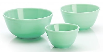 Mosser Glass 3 Piece Glass Mixing Bowl