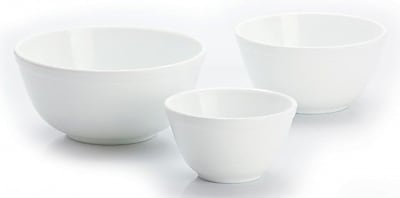 Mosser Glass 3 Piece Glass Mixing Bowl