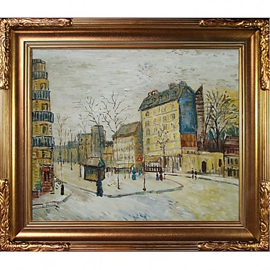 Tori Home Boulevard de Clichy by Vincent Van Gogh Framed Painting