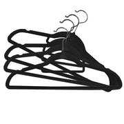 Linen Depot Direct Velvet Hanger (Set of 50); Black