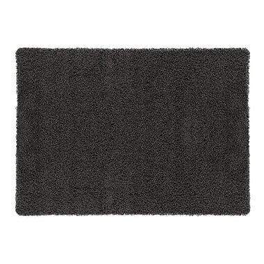 sweet home stores Cozy Charcoal Area Rug; Rectangle 8'2'' x 9'10''