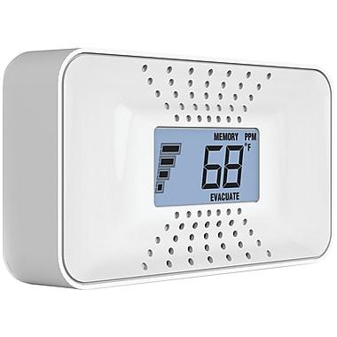 First Alert Carbon Monoxide Alarm w/ Temperature, Digital Display & Sealed Battery