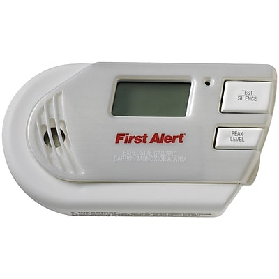 First Alert 3-in-1 Explosive Gas & Carbon Monoxide Alarm