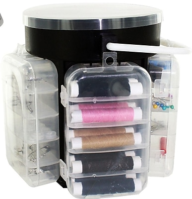 KoleImports 210 Piece Deluxe Sewing Kit w/ Storage Caddy