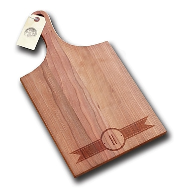 Richwood Creations Ribbon Banner Handle Cutting Board; H