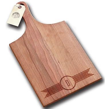 Richwood Creations Ribbon Banner Handle Cutting Board; O
