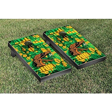 Victory Tailgate NCAA FIght Song Version Cornhole Game Set; Florida A&M University Rattlers