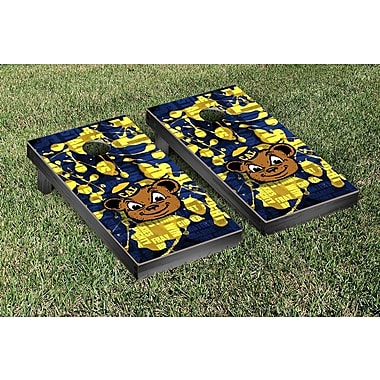 Victory Tailgate NCAA FIght Song Version Cornhole Game Set; California Berkeley Golden Bears