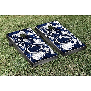Victory Tailgate NCAA FIght Song Version Cornhole Game Set; Penn State PSU Nittany Lions