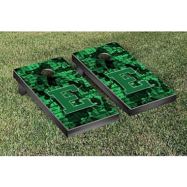 Victory Tailgate NCAA FIght Song Version Cornhole Game Set; Eastern Michigan University Eagles