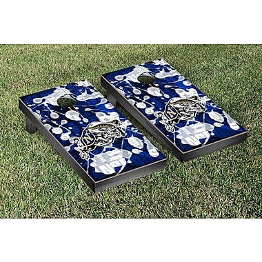 Victory Tailgate NCAA FIght Song Version Cornhole Game Set; Naval Academy Midshipmen