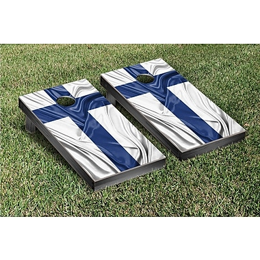Victory Tailgate Country Rippled Flag Cornhole Game Set; Finland