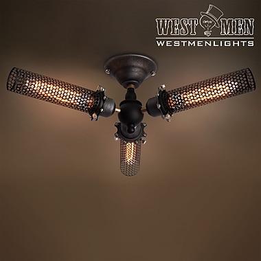Westmen Lights 3-Light Semi-Flush Mount