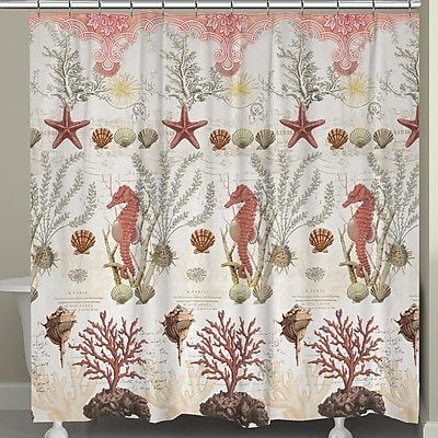 LauralHome Ornate Shower Curtain
