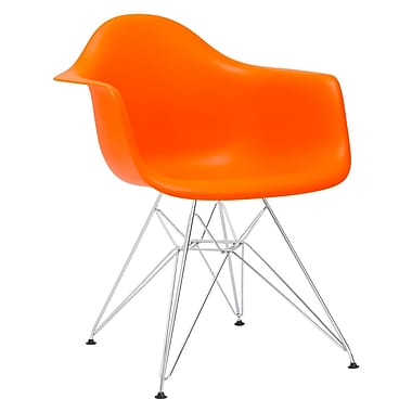 Edgemod Padget Arm Chair; Orange