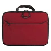 "Mobile Edge SlipSuit Crimson Red Cushioned EVA Sleeve for 14.1"" Notebook (MESS6-14)."