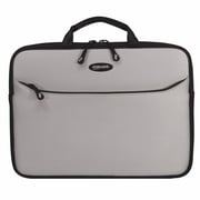 "Mobile Edge SlipSuit Silver Cushioned EVA Sleeve for 16"" Notebook (MESS2-16)."