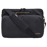 Cocoon Urban Adventure Black Canvas Laptop Messenger (MMS2604BK)