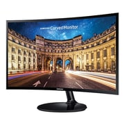 "Samsung LC24F390FHNXZA 24"" Curved LED Monitor, High Glossy Black"